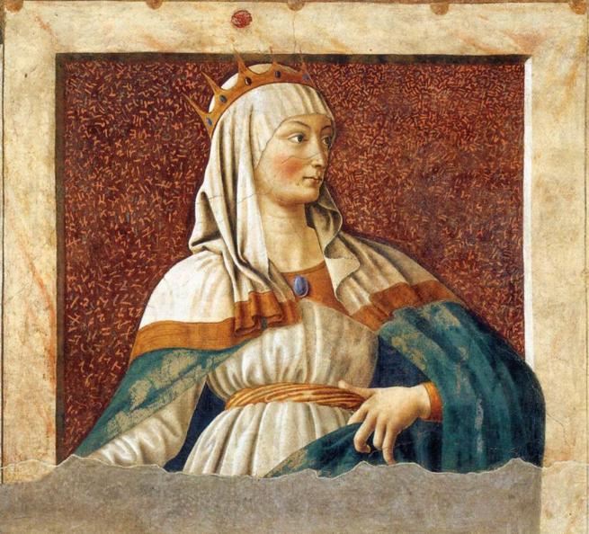 Царица Эстер. Андреа дель Кастаньо, ок. 1450