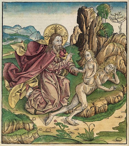 Создание Евы. Нюрнбергская хроника, 1493