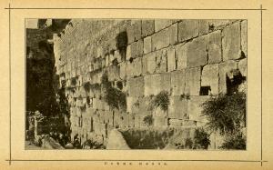 Стена плача на рубеже 20 в (из книги Дорошевича)