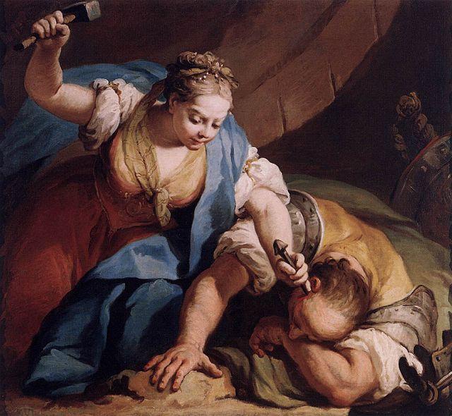 Йаэль и Сисера. Джакопо Амигони, ок. 1739