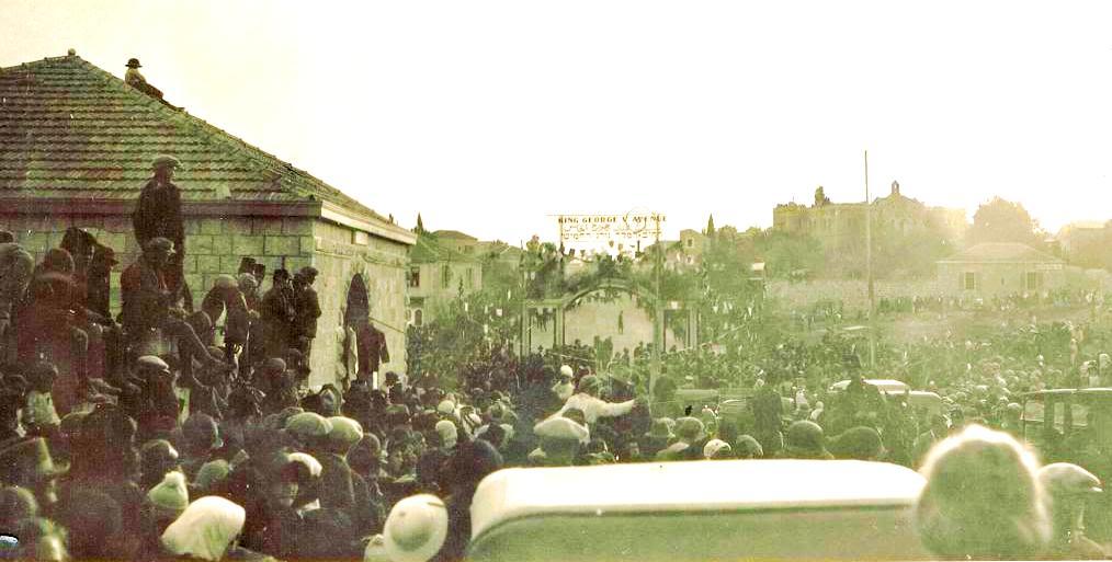 Открытие проспекта Короля Георга V 1924