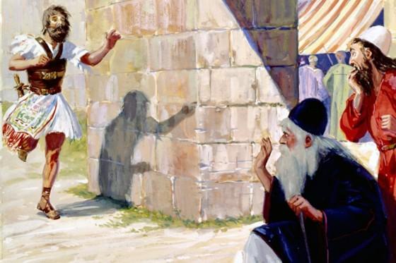 Эли. Иллюстрация к Библии.