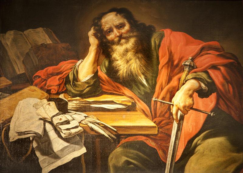 Апостол Павел. Церковь Сен-Северен, Париж (photo © sedmak)