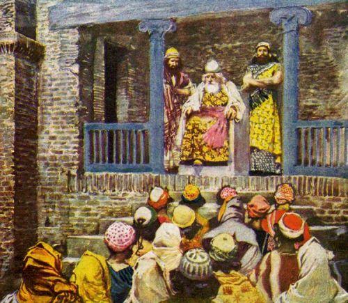 Речь Шемуэля. Источник: http://biblestudyoutlines.org/bible-study-lessons/old-testament-bible-study/1-samuel-8-bible-study/