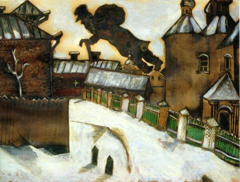 Марк Шагал. Старый Витебск, 1914 г.