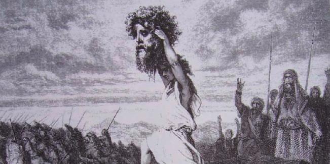 Давид с головой Голиафа. Гюстав Доре (1738-1815)