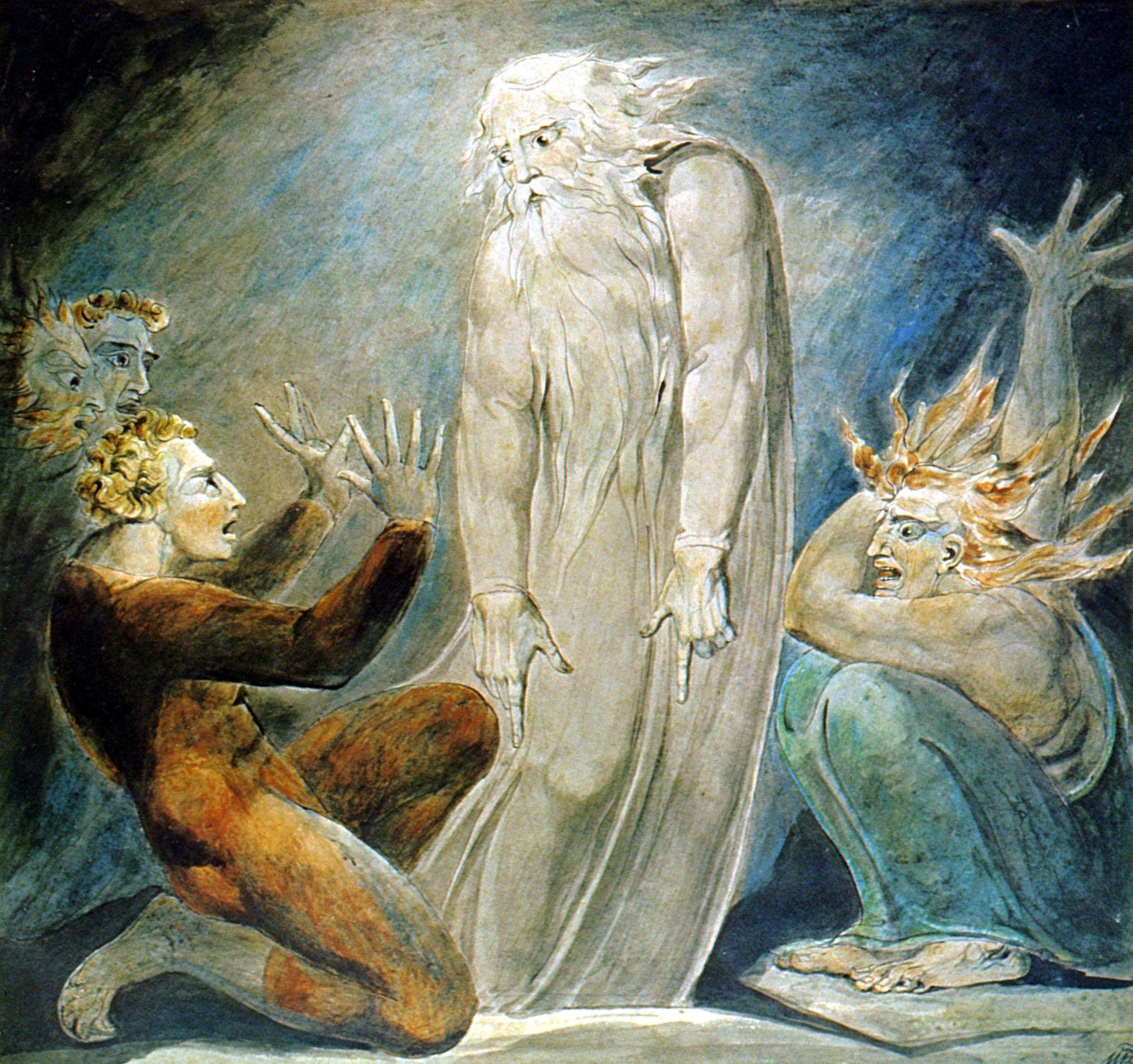 Уильям Блейк, Ведьма из Эн-Дора вызывает Дух Самуила