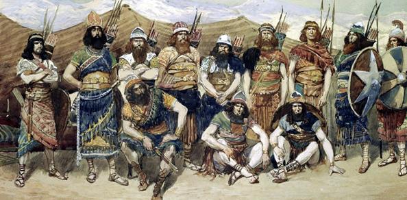 Джеймс Тиссо. Храбрые воины Давида (1896-1902).
