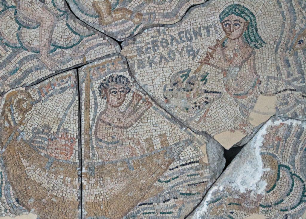 Одиссей, искушаемый сиренами. Бейт-Шаан, дом Леонтия