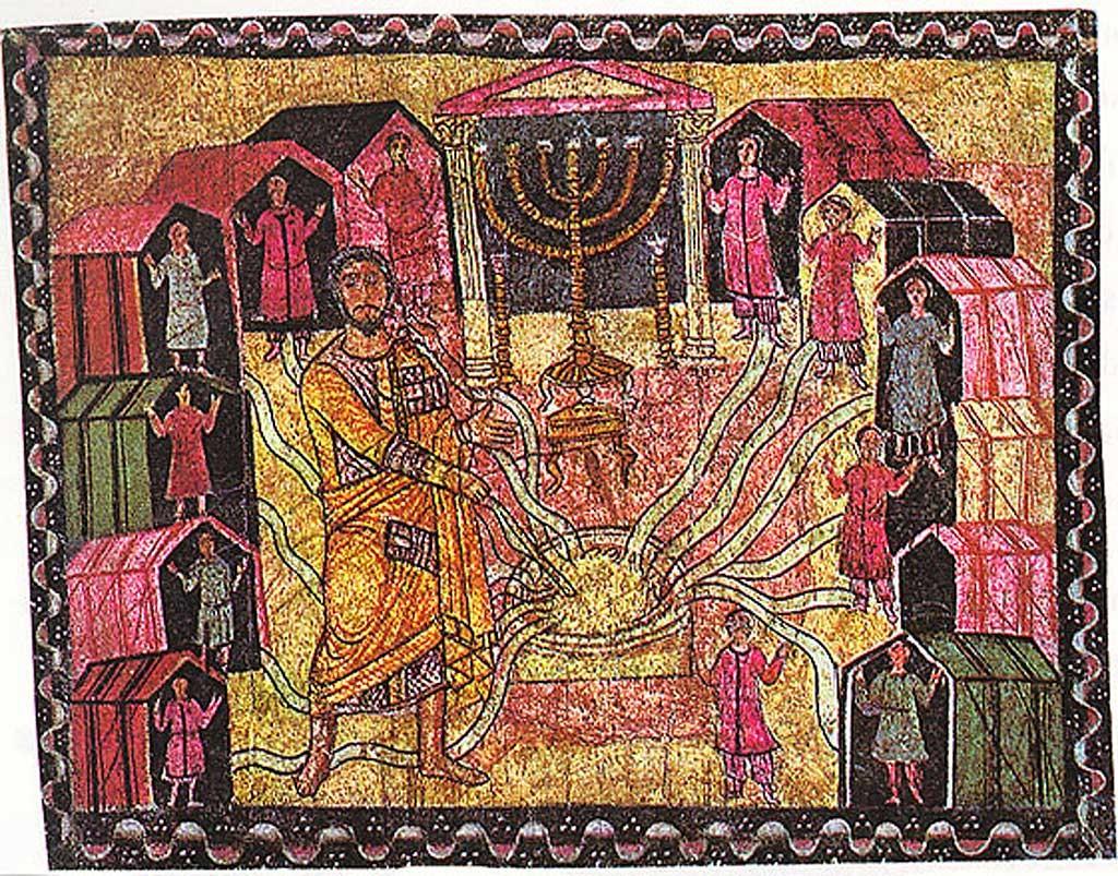 синагога Дура Европас колодец Мирьям