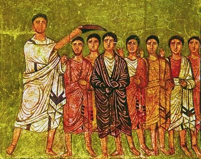 Дура-Европос помазание Давида