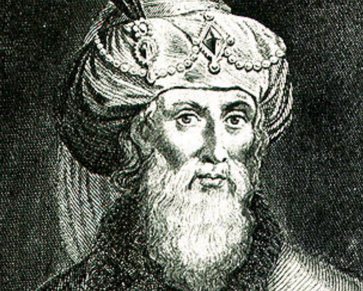 Реконструкция портрета Иосифа Флавия (сделана Уильямом Уистоном к переводу его работ, фрагмент)