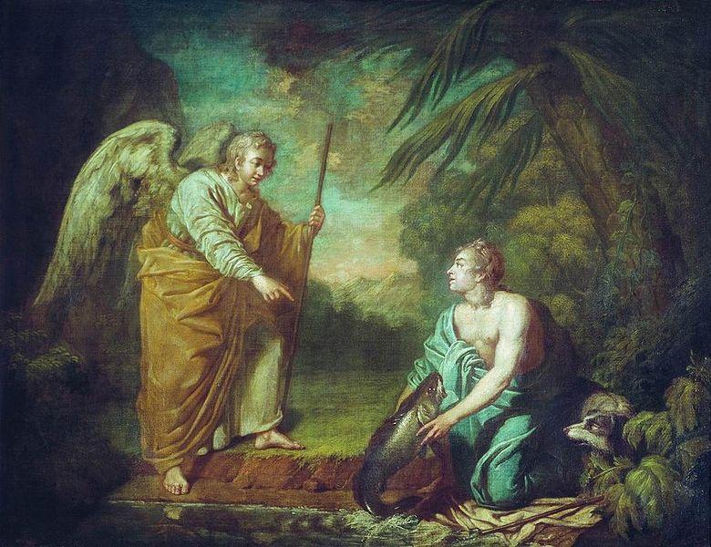 780px-Tobias_with_angel_by_A.Losenko
