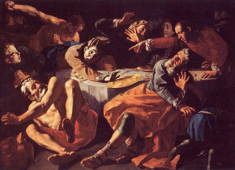 Убийство Амнона. Гаспаре Траверси, 1752 г.