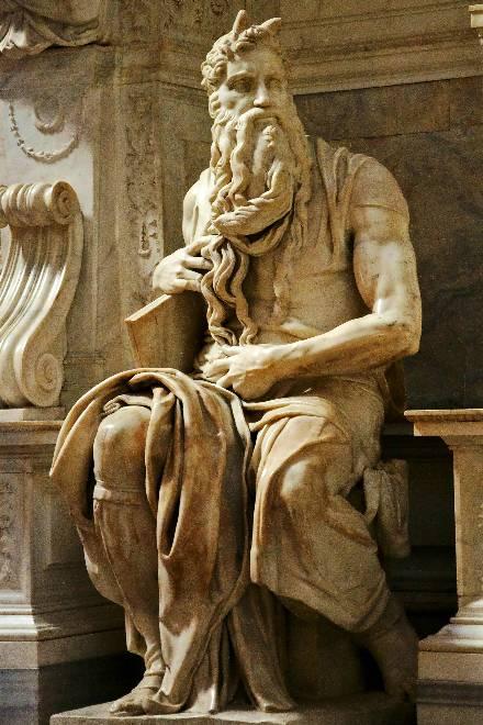Моисей Микеланджело ( 1513-1515)