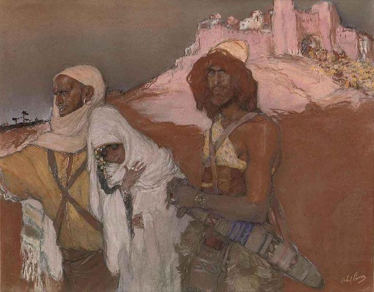 Изнасилование Дины. Абель Пан (1883-1063)