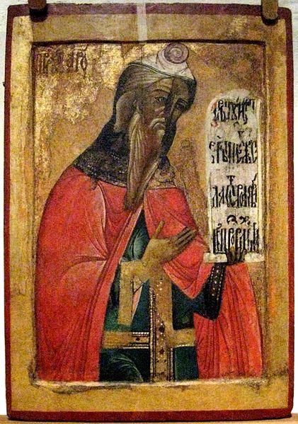Аарон. Икона в Кирилло-Белозерском монастыре, XVII в.