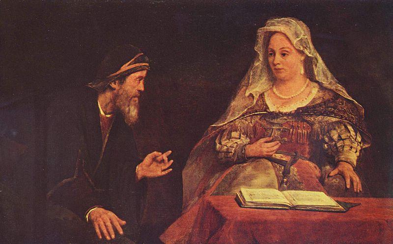 Эстер и Мордехай. Арент де Гелдер, 1685