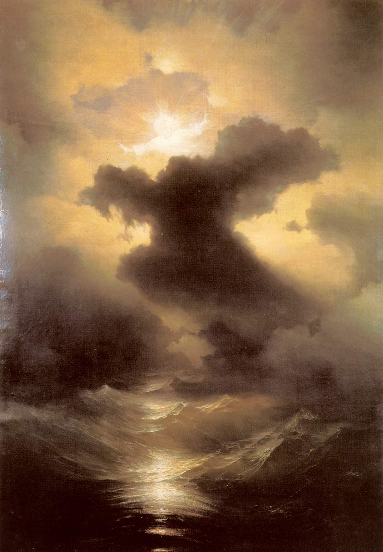 Хаос. Сотворение мира. Иван Айвазовский, 1841
