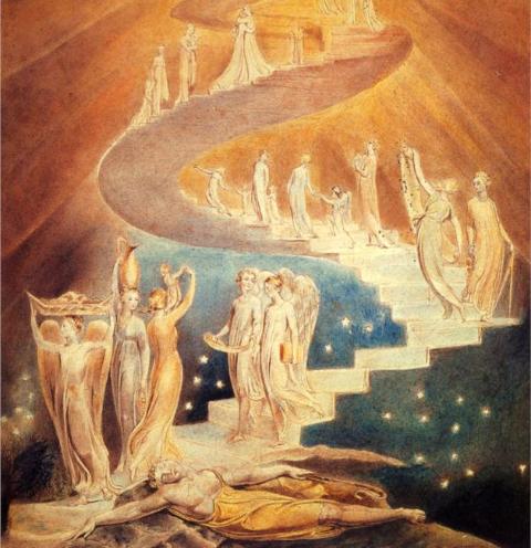 «Лестница Йаакова», Уильям Блейк