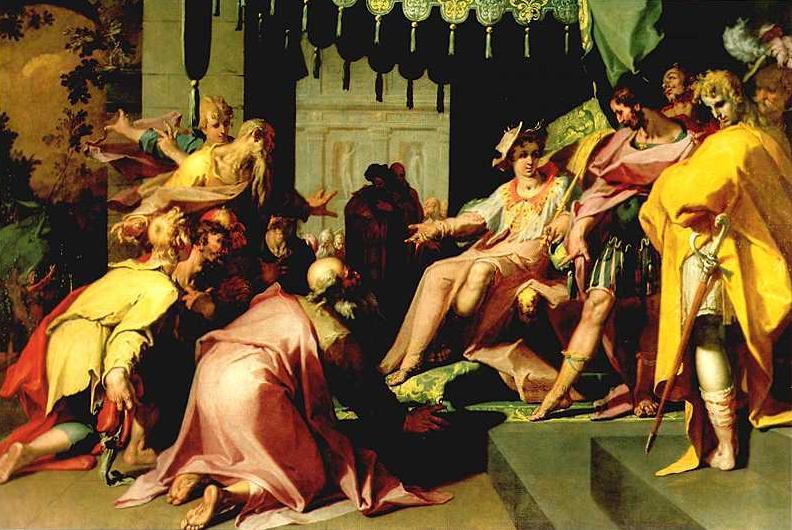 Йосеф и его братья в Египте. Абрахам Блумарт, ок. 1600