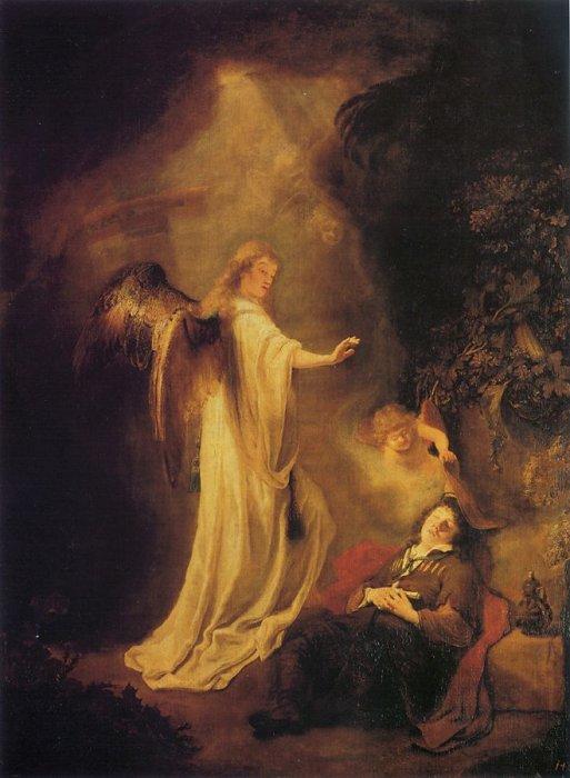 Сон Йаакова. Фердинанд Боль, 1642