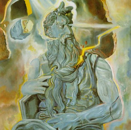 По мотивам статуи 'Моше' Микеланджело. Сальвадор Дали, 1982