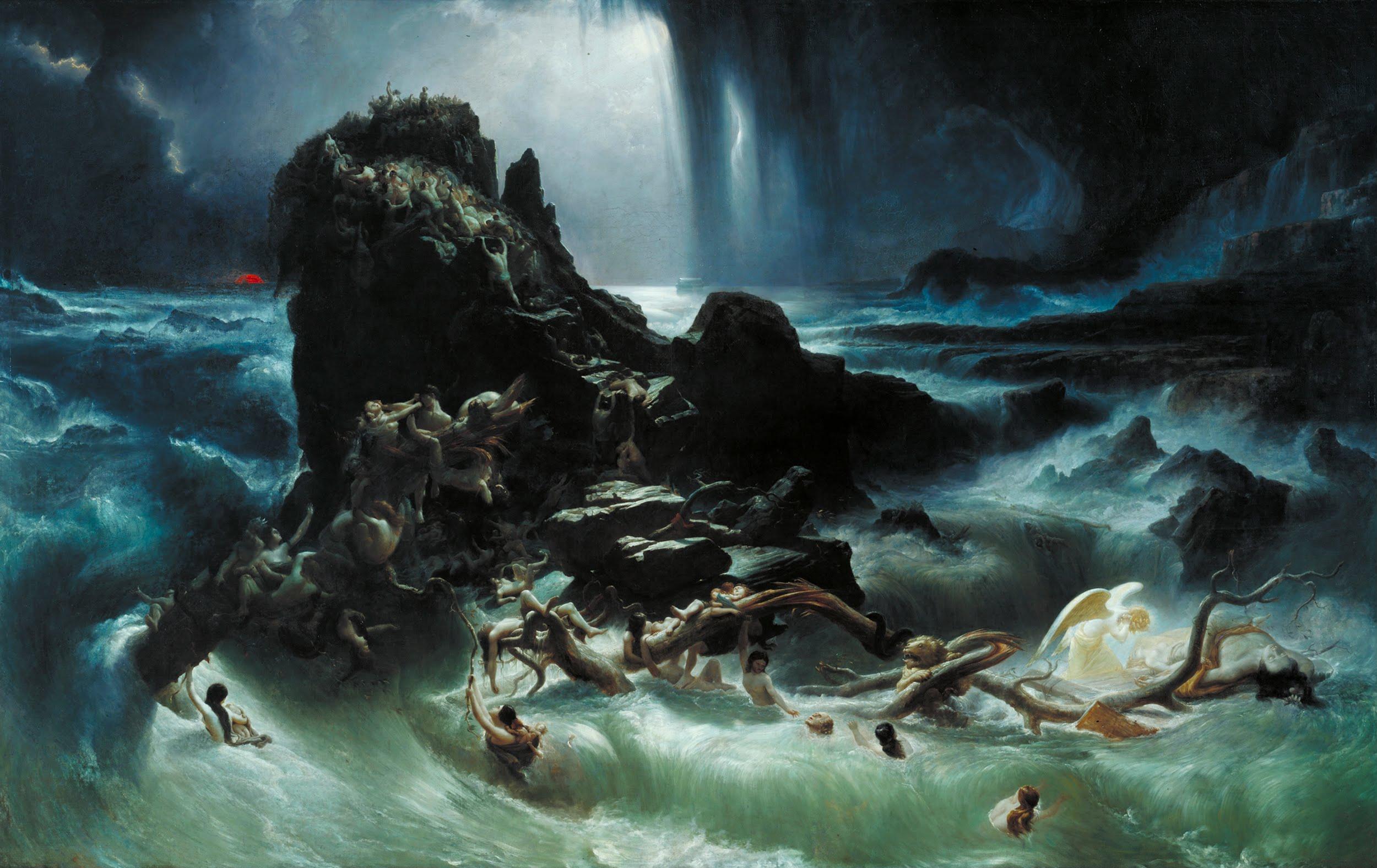 Потоп. Фрэнсис Дэнби, 1840