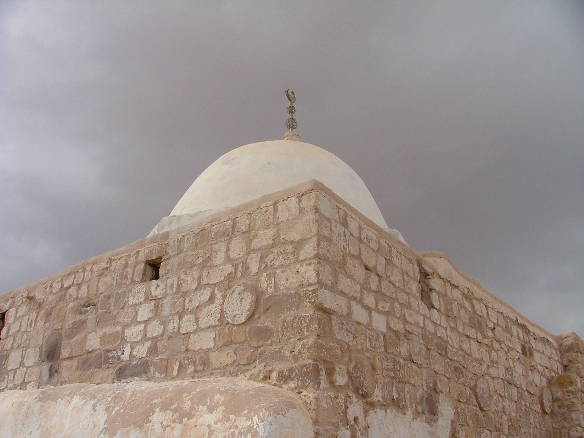 Предполагаемое место захоронения Аарона на горе Джабаль Харун (Иордания)