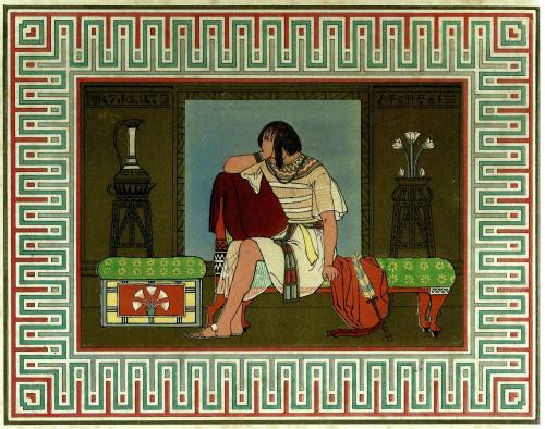 Рыдания Йосефа. Миниатюра, 1869 г.