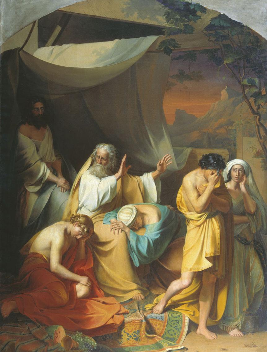 Ной проклинает Хама. Иван Ксенофонтов, XIX век