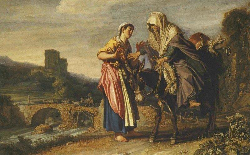 Рут выражает свою преданность Наоми. Питер Ластман, 1614