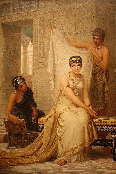 Царица Эстер. Эдвин Лонг, 1878