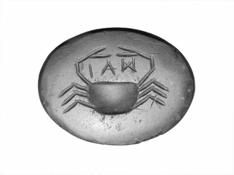 Магический амулет с надписью «ИАО» — греческой формой тетраграмматона
