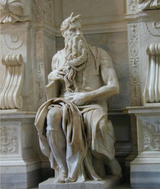 Моисей. Микеланджело, 1513-1515