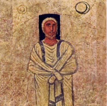 «Моше», фреска из синагоги в Дура Европос