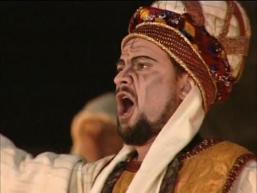 Фрагмент постановки оперы Дж. Верди «Набукко»