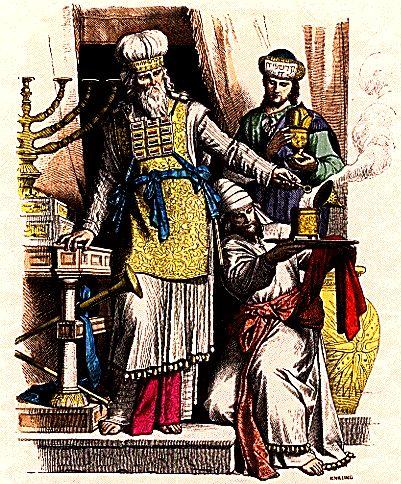 Еврейский первосвященник. Иллюстрация 1861-1880 гг.