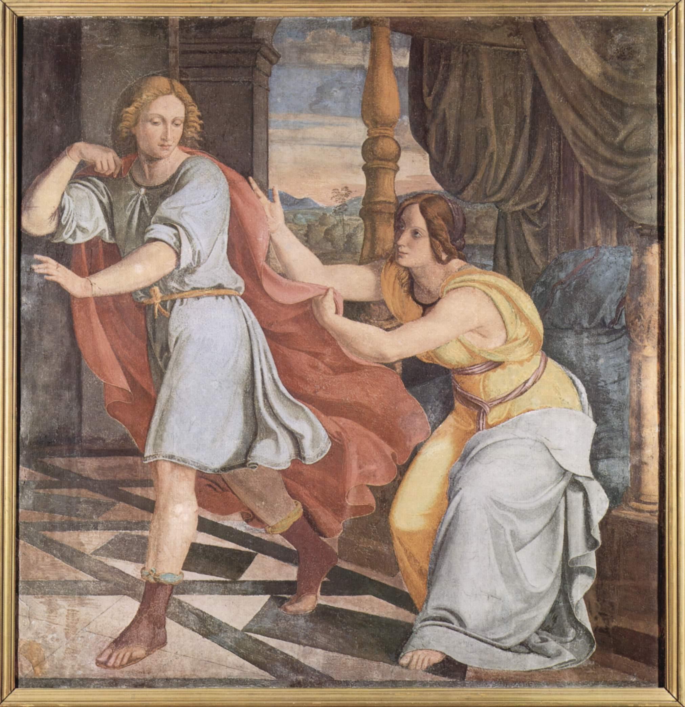 Йосеф и жена Потифара. Филипп Фейт, 1817