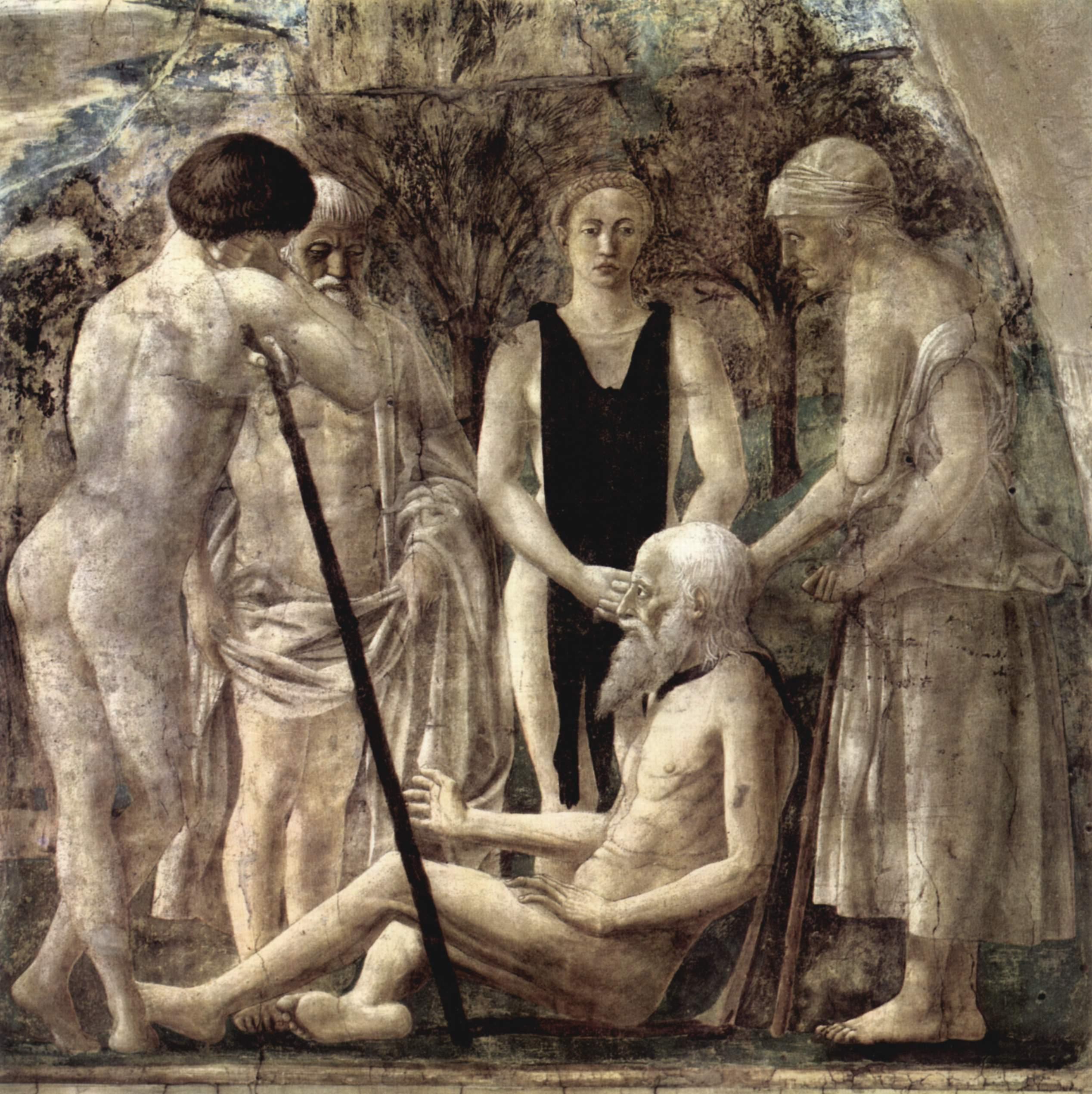 Смерть Адама. Пьеро делла Франческа, 1452-1466