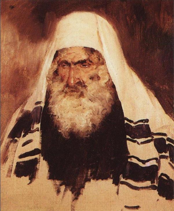 Голова старого еврея. Василий Поленов, 1895
