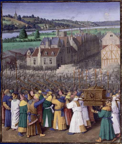 Ковчег Завета. Жан Фуке, 1470-1475