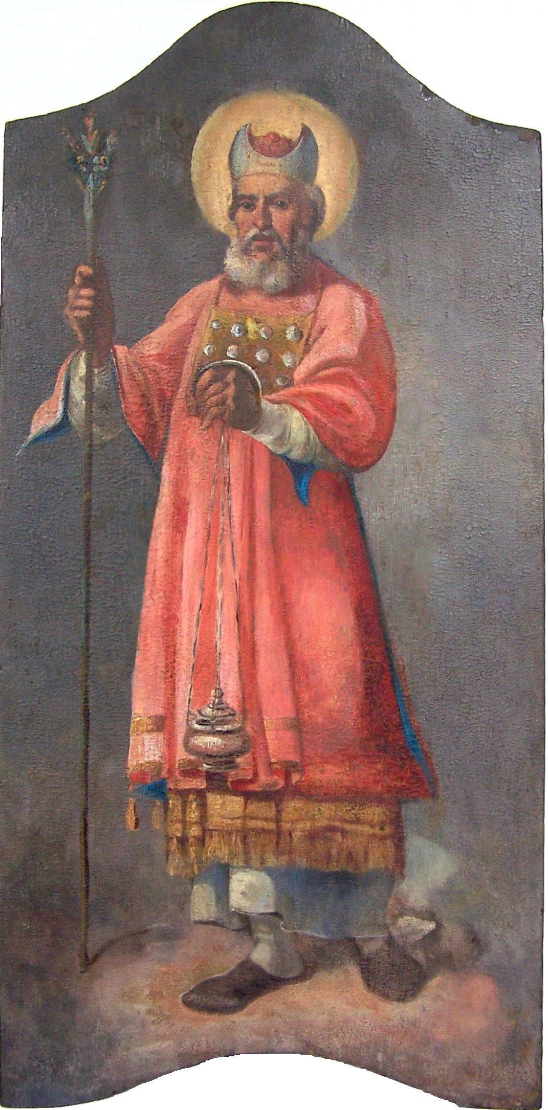 Аарон в первосвященническом облачении. Греческая икона XVIII в.