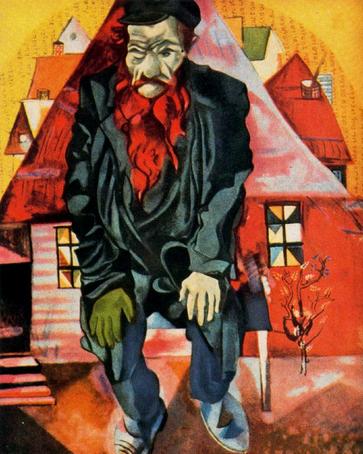 Красный еврей. Марк Шагал, 1915