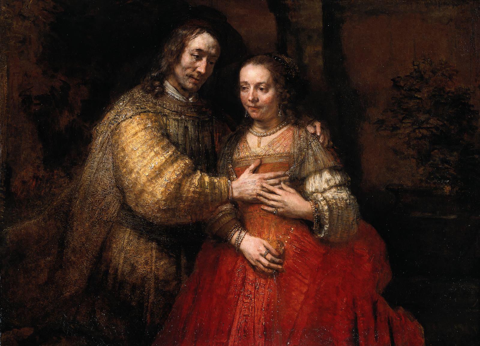 «Еврейская невеста», Рембрандт
