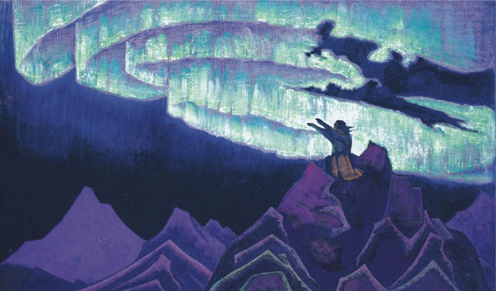 Моисей Водитель. Николай Рерих, 1926