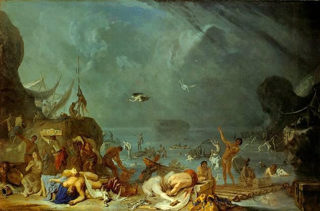 Потоп. Иоганн Генрих Шёнфельд, 1634-35
