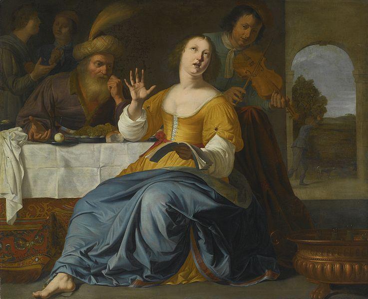 Эстер и Мордехай. Альберт ван дер Шор, 1643