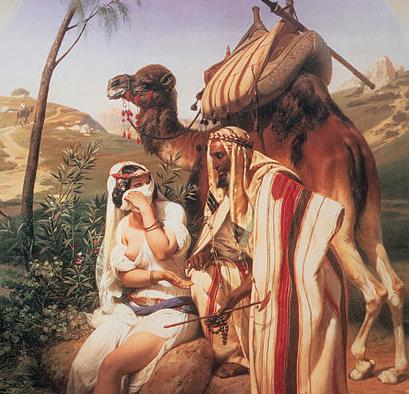 «Йеуда и Тамар», Орас Верне