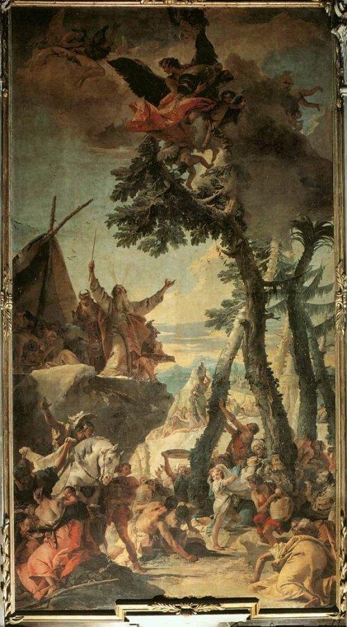 Сбор манны. Джованни Баттиста Тьеполо, 1740-1742